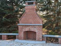 incredible how to build outdoor fireplace incredible how to build an outdoor fireplace with red brick