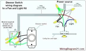 wire ceiling fan and light to wall swi how