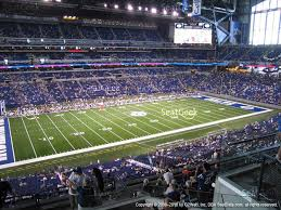 Indianapolis Colts Seating Chart Indianapolis Colts At Lucas Oil Stadium Section 417 View
