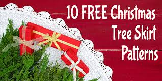 Free Christmas Tree Skirt Patterns & 10 Free Christmas Tree Skirt Patterns Adamdwight.com