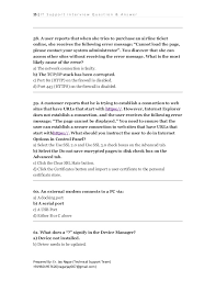 Technical Support Questions It Support Technical Questions For It Support Interview