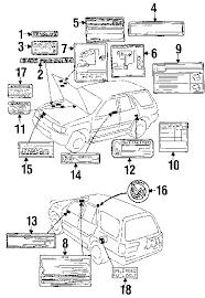 2000 toyota 4runner parts diagram smartdraw diagrams parts com toyota 4runner belts pulleys oem