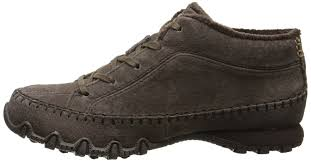 Skechers Bikerstotem Pole Womens Trainers Chocolate Womens