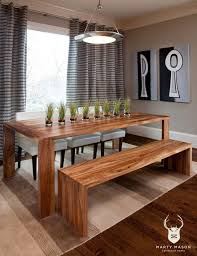 diy dining room table bench table round dining table plans