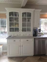 Hutch Kitchen Furniture White Kitchen Hutch Meltedlovesus