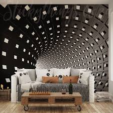 xl infinity 3d illusion wall mural