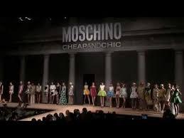 <b>Moschino Cheap and</b> Chic S/S12 fashion show - YouTube