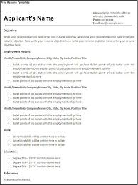 Resume Samples In Word 2007