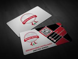 Soccer Business Card Entry 27 By Pointlesspixels For Design Business Card For