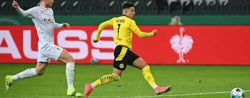 Takes huge bollocks just to volunteer. Sanchos Treffer Genugt Borussia Dortmund Bvb Wirft Borussia Monchengladbach Aus Dem Dfb Pokal Sport Tagesspiegel