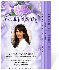 Memorial Card Template Memorial Flyers Ohye Mcpgroup Co