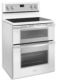 white electric range. Whirlpool White Electric Double Range (6.7 Cu. Ft.) - YWGE745C0FH