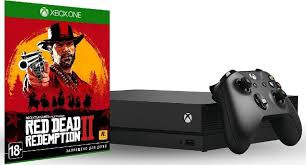 Игровая <b>приставка Microsoft</b> Xbox One X, черный + <b>игра</b> Red ...