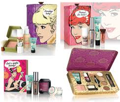 benefit cosmetics makeup and beauty sets for christmas