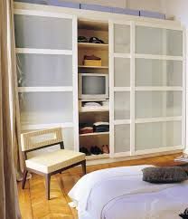 Small Bedroom Wardrobe Solutions Closet Door Solutions For Small Spaces Small Bedroom Closet Door