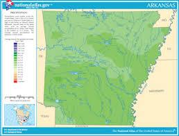 arkansas lake map, river map and water resources White River Arkansas Map arkansas precipitation map white river arkansas map app
