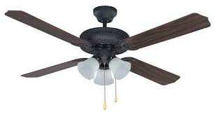 indoor ceiling fans 3 light fixture w oil rubbed bronze finish a 52 180 watts traditional ceiling fans by rlalighting
