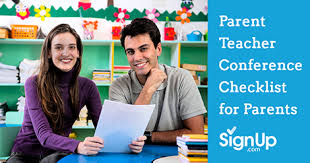 Printable Checklist For Parent-Teacher Conferences   Signup.com