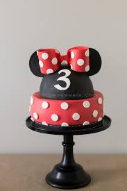 Midtown Sweets Minnie Mouse Birthday Cake