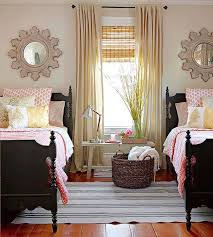 View in gallery Beautiful country living guest room with twin beds