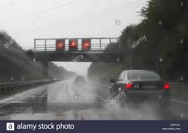 Deutschland Autobahn A44 In Der Nähe Von Werl überholen