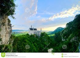 Neuschwanstein Castle Stock Photo Image Of Domain Cliff 6018322