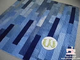 Quilt Inspiration: Free pattern day ! Denim quilts & American Flag Denim Quilt Tutorial by Miranda at One Little Minute Adamdwight.com
