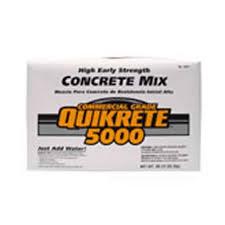 quikrete 5000 concrete mix 80lb