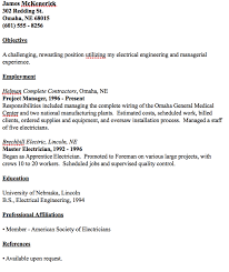 Sample Journeyman Electrician Resumes Master Electrician Resume Example Best Secret Wiring Diagram