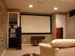 cool basement colors. Small Home Theater Ideas Brown Wooden Floor Recessed Ceiling Ligh Simple Wall Lighting Laminate Flooring Dark Grey Area Rug Color Fur Cool Modern Lamp Rugs Basement Colors