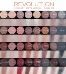 makeup revolution flawless 3 resurrection swatches london ultra 32 eyeshadow palette
