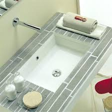 Undermount Bath Sink Absolutely Smart Small Rectangular Bathroom