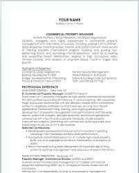 Sample Resume For Apartment Manager Property Management Objective