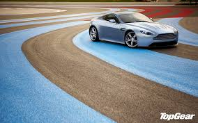 Gray Aston Martin Coupe Aston Martin Vantage Supercar Racing Track Hd Wallpaper Wallpaperbetter