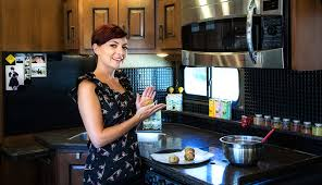 cooking in microwave convection oven. Fine Oven My Tiny Rv Kitchen For Cooking In Microwave Convection Oven