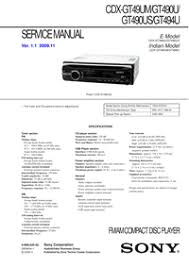 sony cdx gt170 installation manual onlyfreesoft sony cdx-gt170 wiring diagram at Sony Cdx Gt170 Wiring Diagram