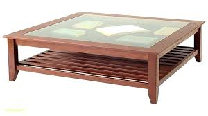 coffee table display top glass case side with drawer large cocktail round oak legs