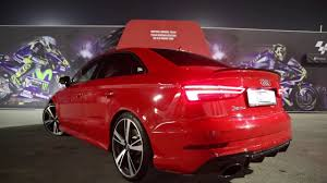 2018 audi rs3. fine audi the new 2018 audi rs3 sedan 400hp  sounds revs launch control in  detail and audi rs3