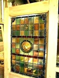 stained glass doors for stained glass door panel front doors 5 panel original stained glass