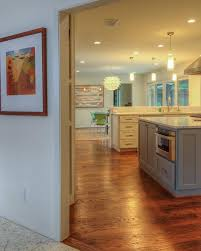 kitchen linear dazzling lights clear ceiling recessed: rich wood floors begin in the kitchen and carry through to the dining area ensuring