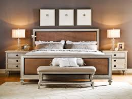 brilliant f contemporary white leather fabric master bed with high headboard and king size bedroom suites brown leather bedroom furniture