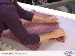 How to Block a <b>Sweater</b> - YouTube
