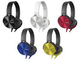 sony earphones. image is loading sony-extra-bass-xb-on-ear-headphones-earphones- sony earphones