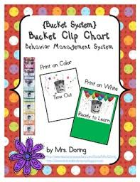 Bucket Clip Chart Behavior Management English