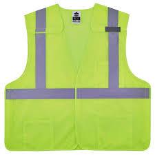Point Blank Vest Size Chart Glowear 8217ba Class 2 Hi Vis 5 Point Breakaway Safety Vest