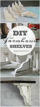 DIY farmhouse shelves. Dining Room ShelvesFarmhouse DecorFarmhouse IdeasFarmhouse  ...