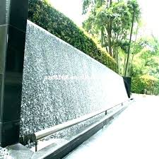 wall diy water fountain build waterfall outdoor inside fountains ideas
