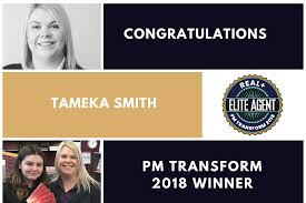 Tameka Smith of Key2 Property takes the crown in PM Transform 2018