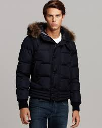 Designer Fur Jacket Men Moncler Jacket Ribera Fur Trimmed Hooded Parka Mens Pre