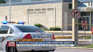 squad called after suious packages left in sarasota post office abcactionnews wfts tv